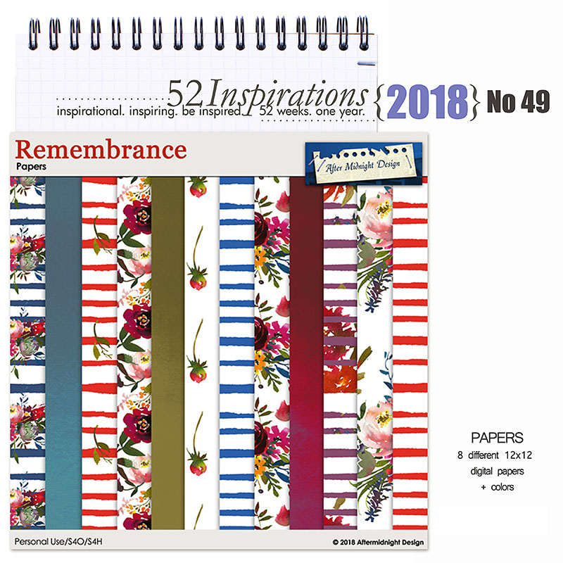52 Inspirations 2018 -  No 49 by Aftermidnight Design