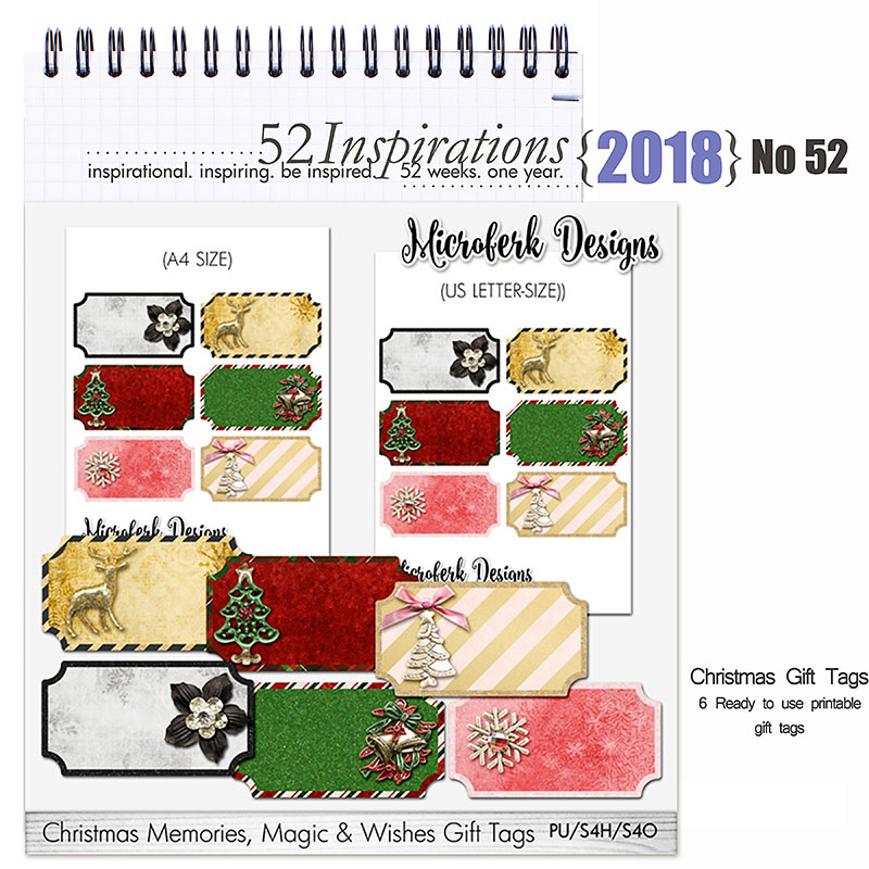52 Inspirations 2018 -  No 52 by Microferk Design