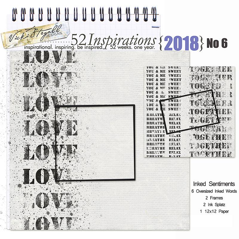 52 Inspirations 2018 - no 6