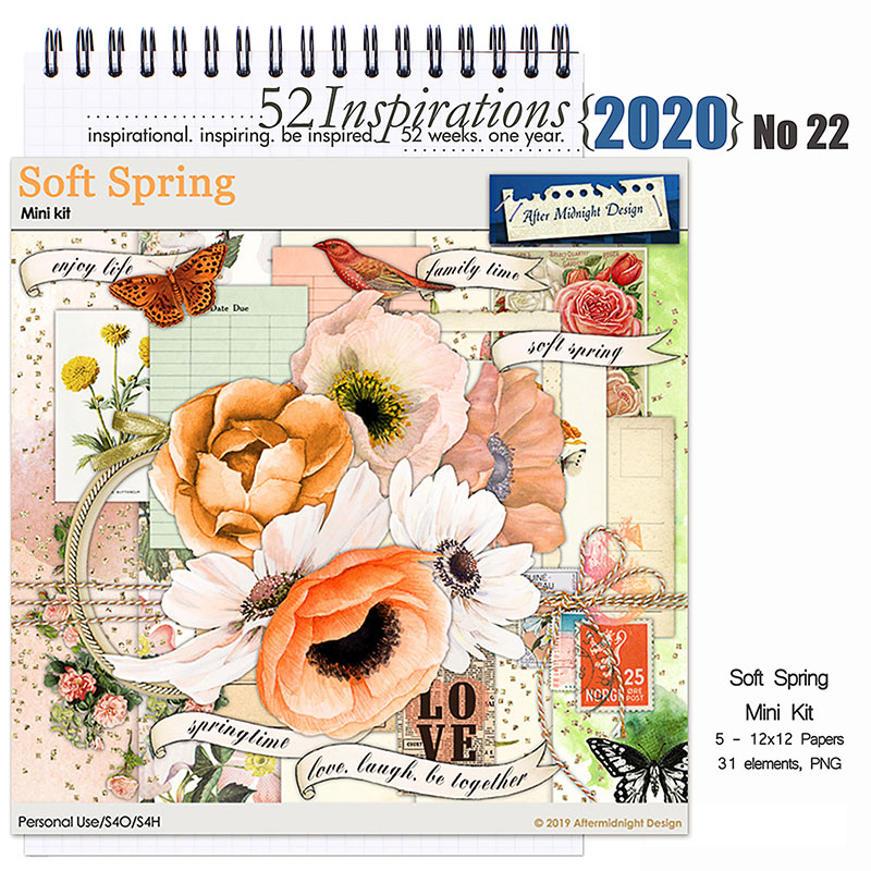 52 Inspirations 2020 No 22 by Aftermidnight Design