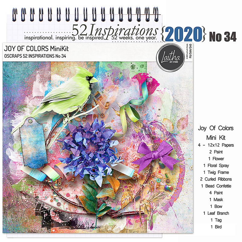 52 Inspirations 2020 no 34 by Laitha