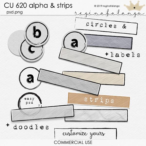 CU 620 ALPHA & STRIPS