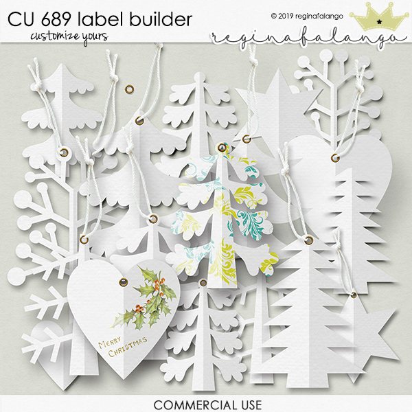 CU 689 LABEL BUILDER