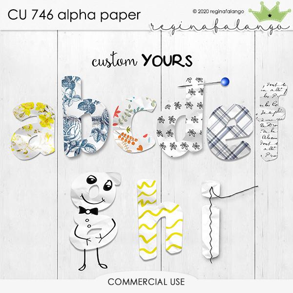 CU 746 ALPHA PAPER