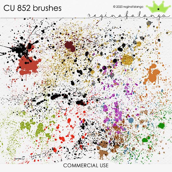 CU 852 BRUSHES