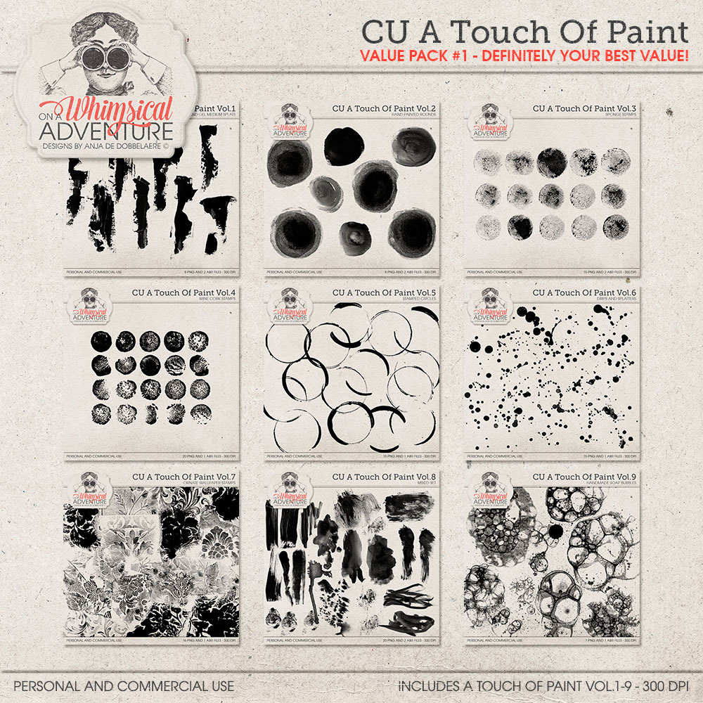 CU A Touch Of Paint Value Pack 1