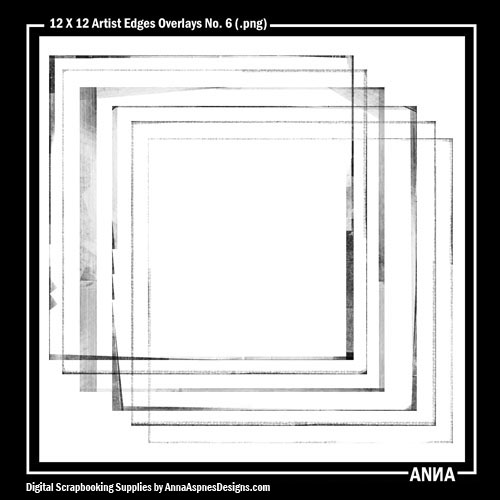 Artist Edges Overlays No. 6