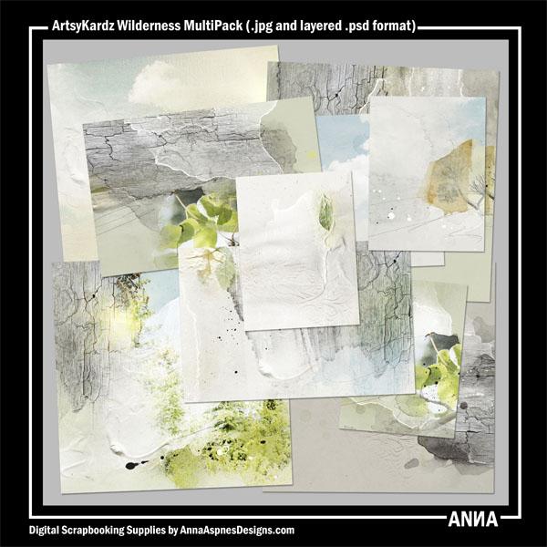 ArtsyKardz Wilderness MultiPack
