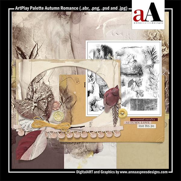 ArtPlay Palette Autumn Romance