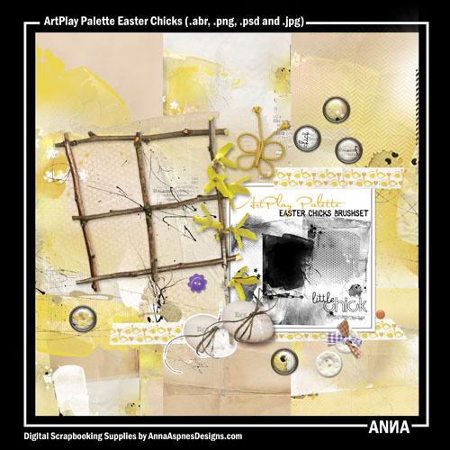 ArtPlay Palette Easter Chicks