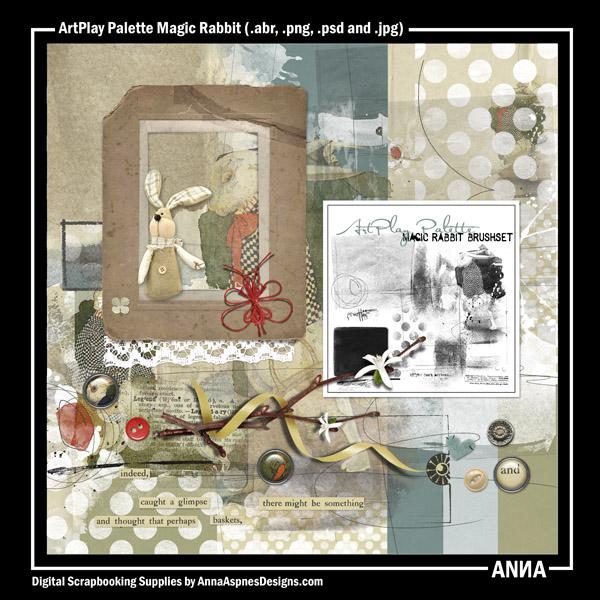 ArtPlay Palette Magic Rabbit