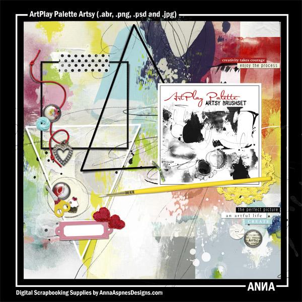 ArtPlay Palette Artsy