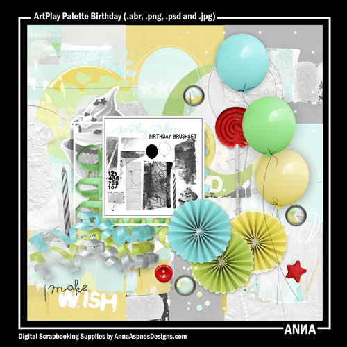 ArtPlay Palette Birthday