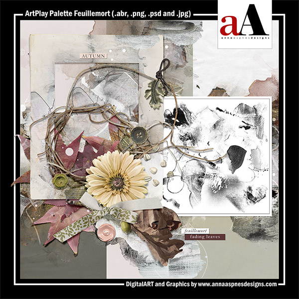 ArtPlay Palette Feuillemort