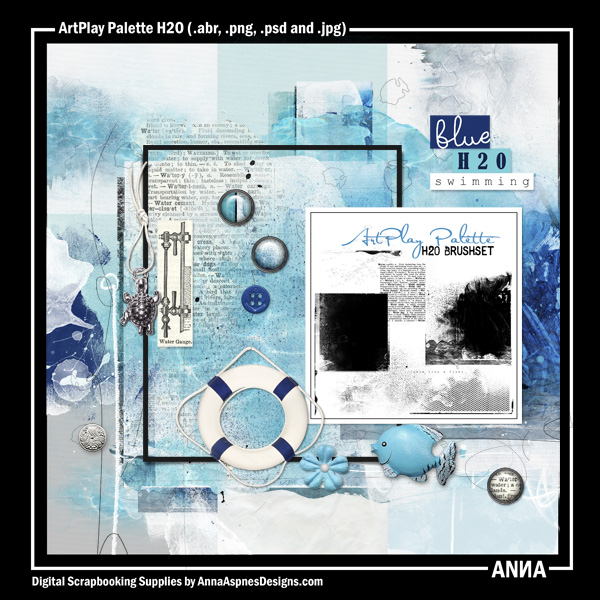 ArtPlay Palette H2O