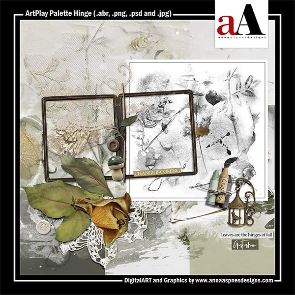 ArtPlay Palette Hinge