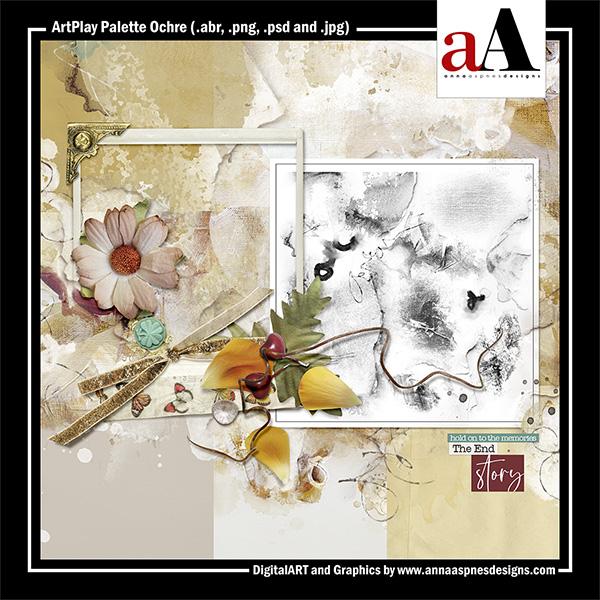 ArtPlay Palette Ochre