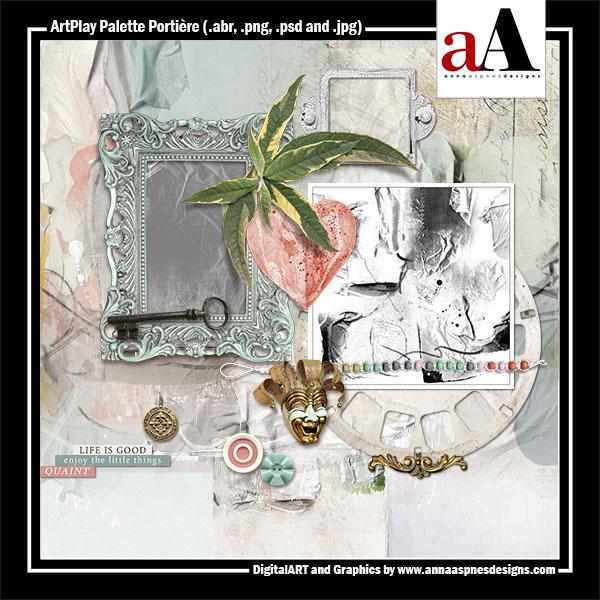 ArtPlay Palette Portiere