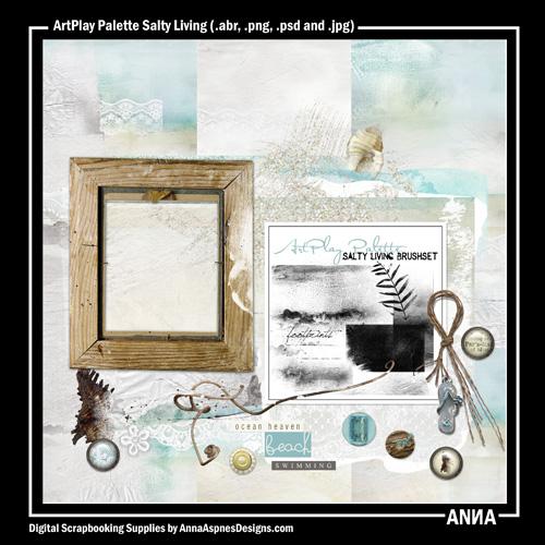 ArtPlay Palette Salty Living