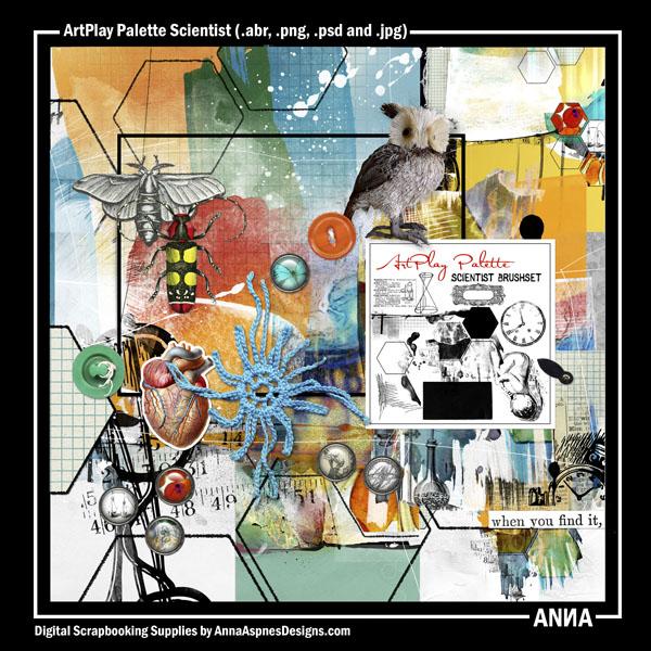 ArtPlay Palette Scientist