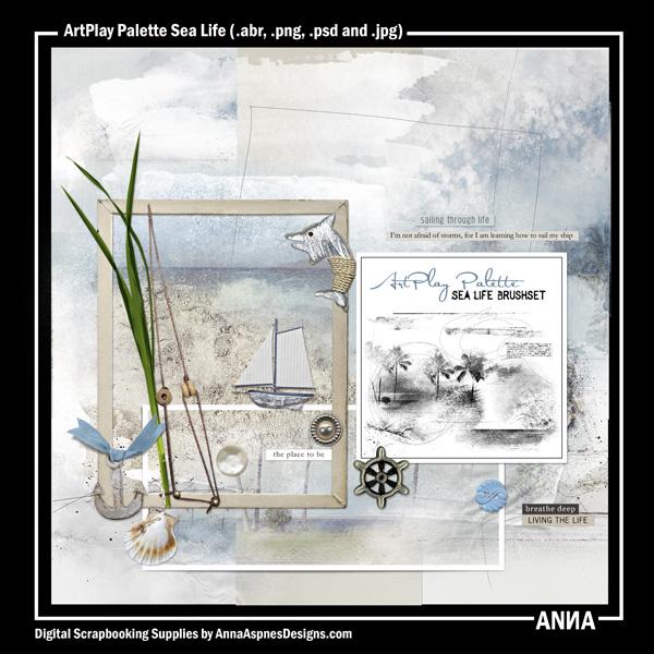 ArtPlay Palette Sea Life