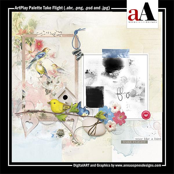 ArtPlay Palette Take Flight