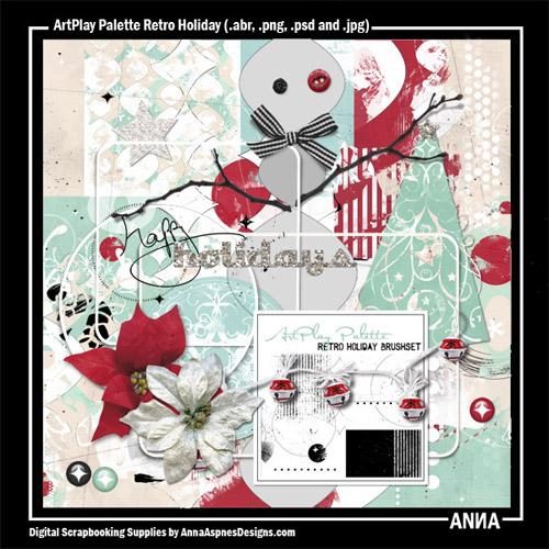 ArtPlay Palette Retro Holiday