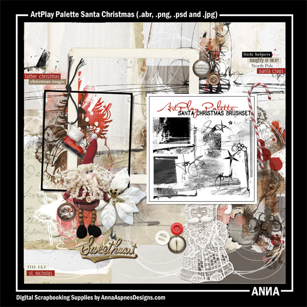 Artplay Palette Santa Christmas