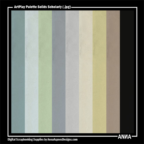 ArtPlay Palette Scholarly Solids