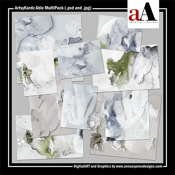 ArtsyKardz Able MultiPack