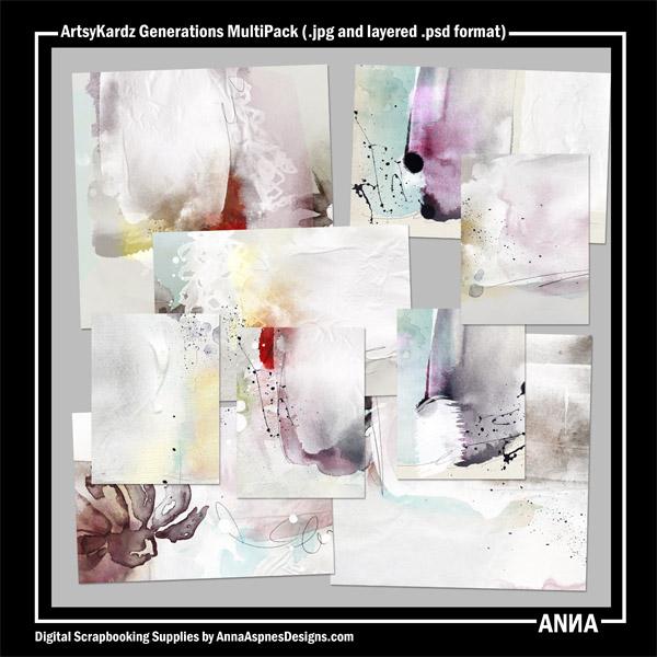 ArtsyKardz Generations MultiPack