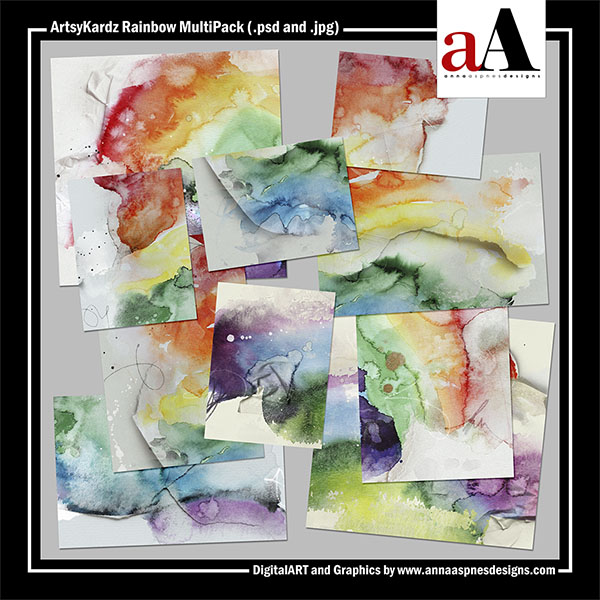 ArtsyKardz Rainbow MultiPack