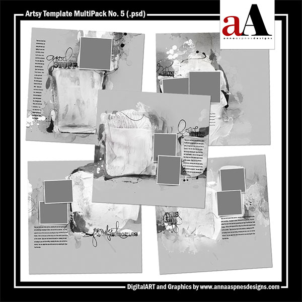 Artsy Template MultiPack No. 5