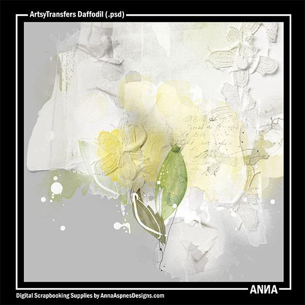 ArtsyTransfers Daffodil