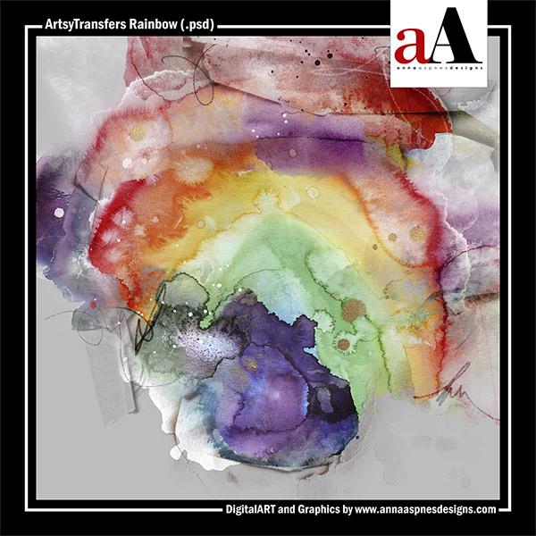 ArtsyTransfers Rainbow