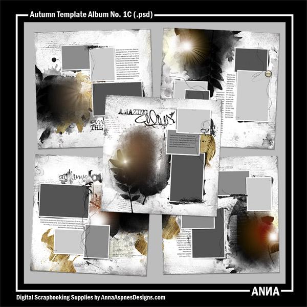Autumn Template Album No. 1C