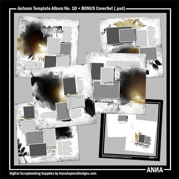 Autumn Template Album No. 1D