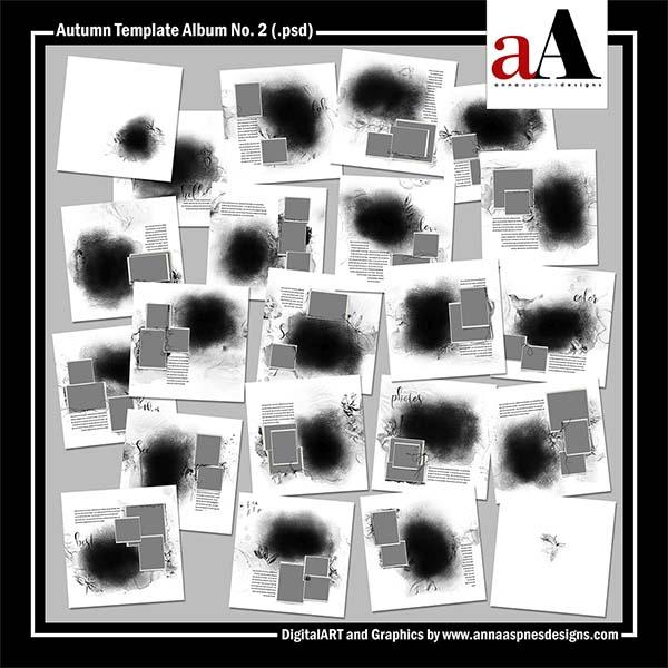 Autumn Template Album No. 2