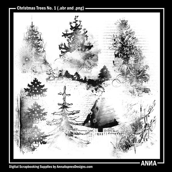 Christmas Trees No. 1