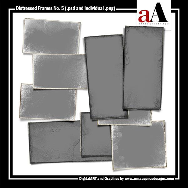 Distressed Frames No. 5