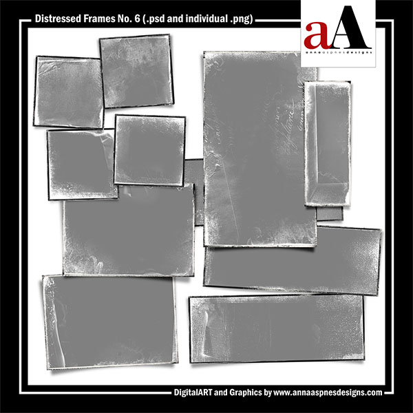 Distressed Frames No. 6