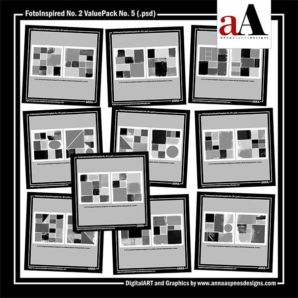 FotoInspired No. 2 ValuePack No. 5