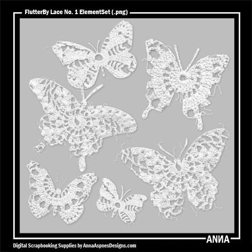 FlutterBy Lace No. 1