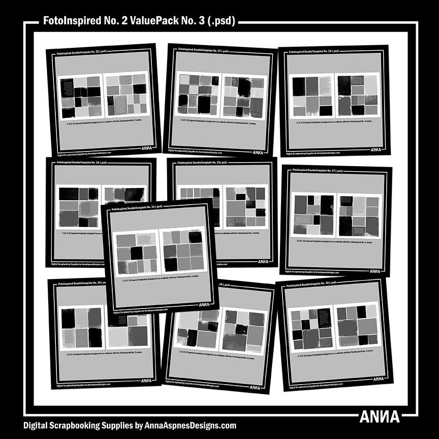 FotoInspired No. 2 ValuePack No. 3