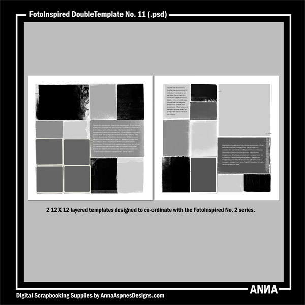 FotoInspired DoubleTemplate No. 11