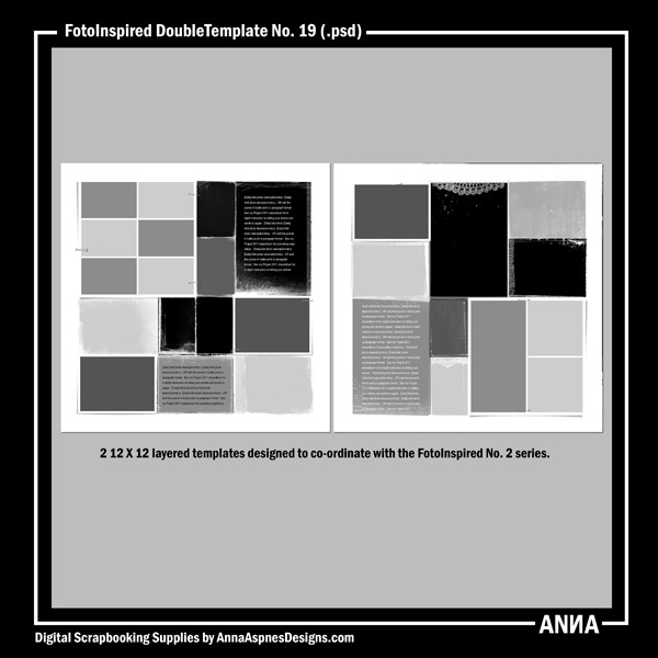 FotoInspired DoubleTemplate No. 19