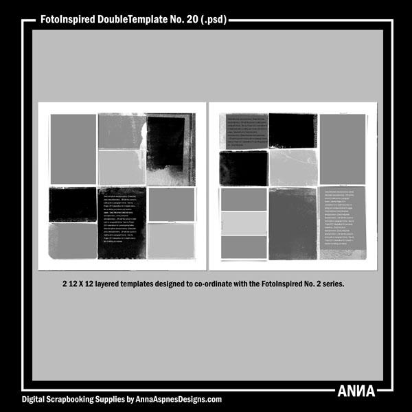 FotoInspired DoubleTemplate No. 20