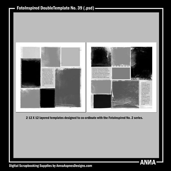 FotoInspired DoubleTemplate No. 39