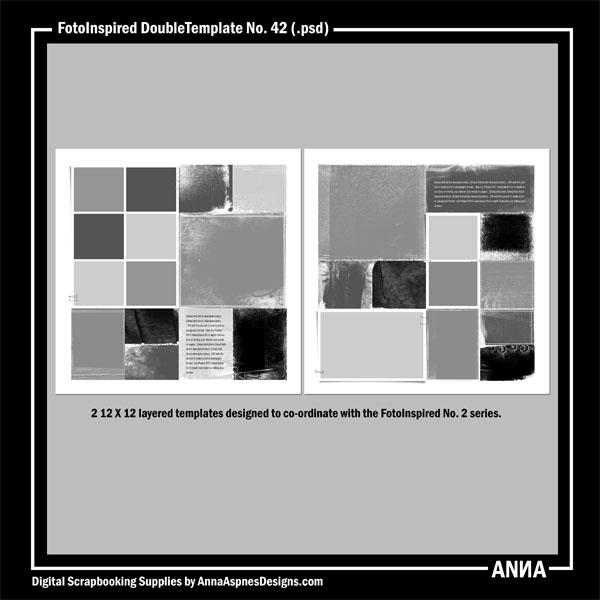 FotoInspired DoubleTemplate No. 42