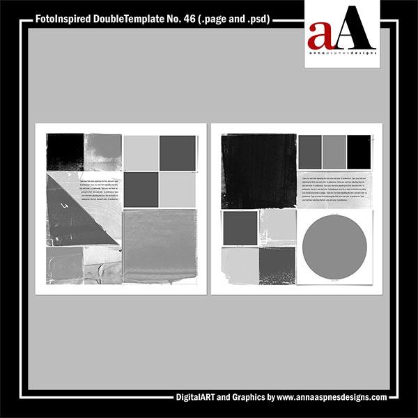 FotoInspired DoubleTemplate No. 46 (Artisan)